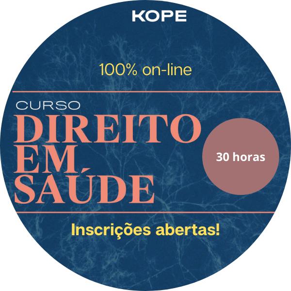 CURSO DE DIREITO EM SAÚDE